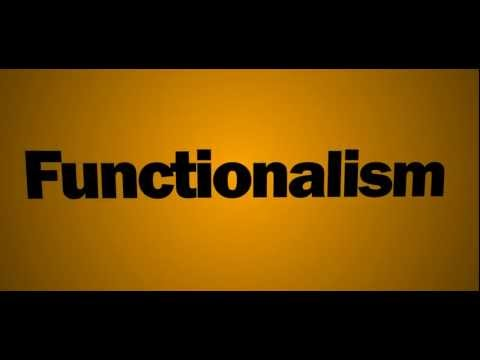 Functionalism Revision Video