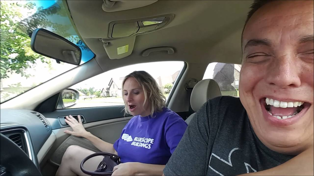 Car Youtube: Car Fart Surprise On Wife