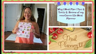 Meal Planner - Why I meal plan | Tips & Tricks on getting started | New Meal Planner