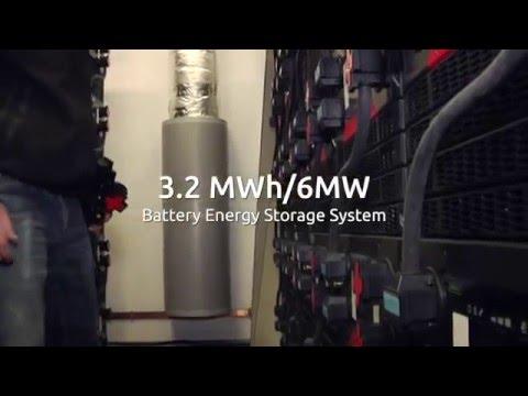 Graciosa  – Leclanche Energy Storage System