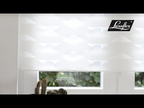 Twist® Shades in Designer Shapes Ballad from Luxaflex®