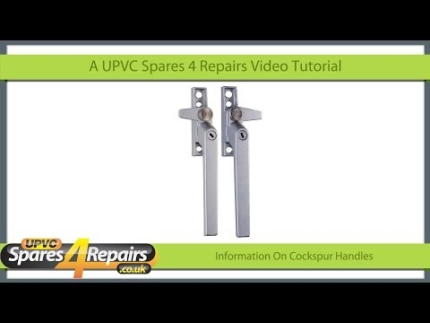How To Replace A Cockspur Window Handle On An Aluminium
