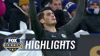 Leicester City vs. Chelsea | 2017-18 FA Cup Highlights