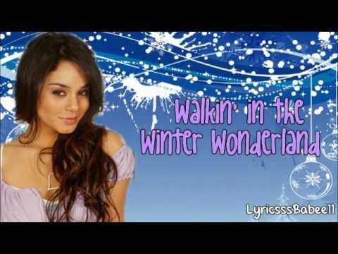 Vanessa Hudgens - Winter Wonderland (Lyrics Video)