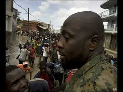 New 2010 wyclef jean tears from haiti(pray for this country) Beat pray for haiti
