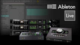 Setting up UA Interfaces for Ableton Live on Mac OSX