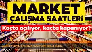 BİM - SOK - A101 MARKETLERİ ÇALIŞMA SAATLERİ..!! ÇALIŞMA SAATLERİ BELLİ OLDU..!!
