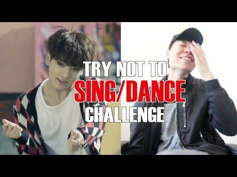 K-POP TRY NOT TO SING DANCE CHALLENGE