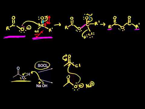 Preparation of acid anhydrides | Carboxylic acids and derivatives | Organic chemistry | Khan Academy