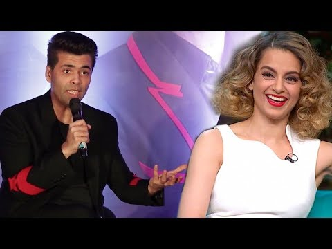 Karan Johar's Reaction on Inviting Kangana on India's Next Superstars After NEPOTISM Controversy