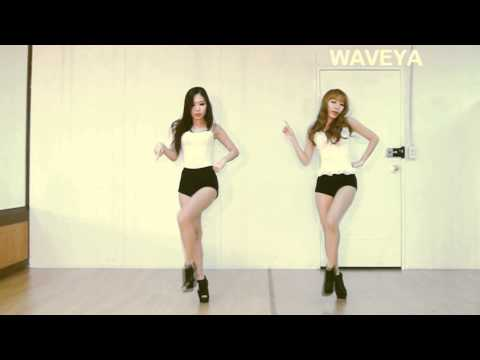 Waveya - AOA  Confused 흔들려  KPOP Dance Practice (Ari MiU)