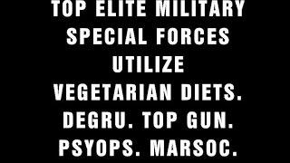 Vegetarian Diet is used by Elite Military Special Ops - Vegan Training Recipe No Crossfit Paleo Food