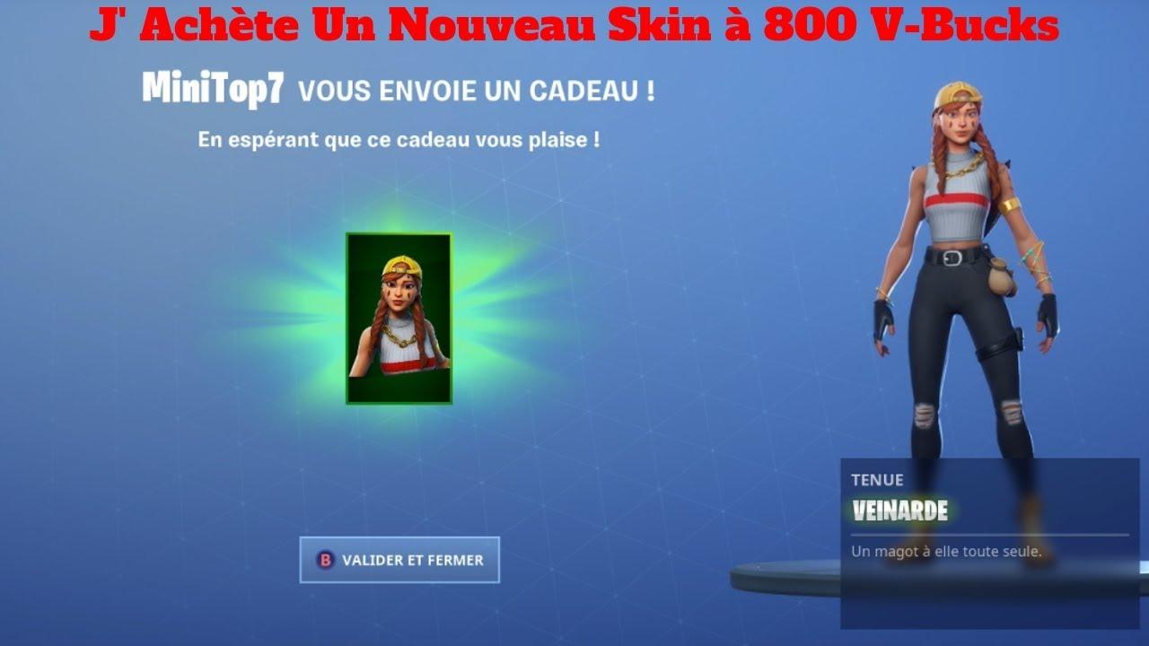 Fortnite Comment Avoir Le Skin Twitch