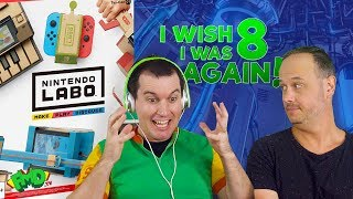 Nintendo Labo & Roblox - FMD loses his mind | I Wish I Was 8 Again
