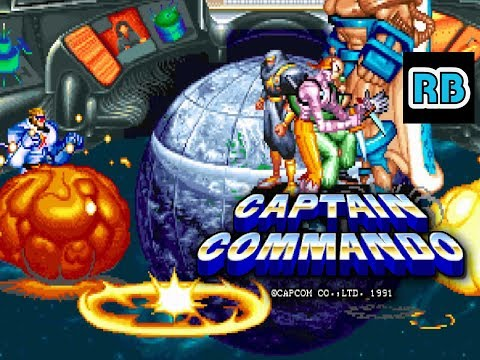 1991 [60fps] Captain Commando 4Players ALL