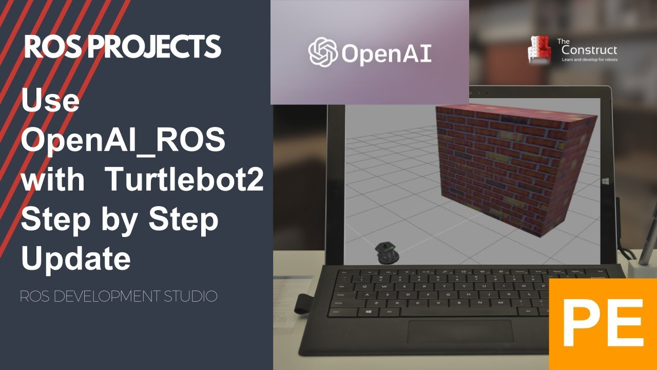 ROS Projects] - Use OpenAI_ROS with Turtlebot2 Step by Step - PE
