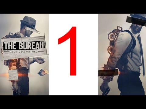"The Bureau XCOM Declassified walkthrough part 1 Gameplay Lets play ""XCOM Declassified walkthrough"""