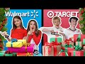 Last Minute Christmas Shopping CHALLENGE With My CRUSH **WALMART VS TARGET* *🎁|Sophie Fergi