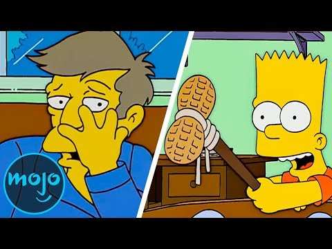 Top 10 Worst Things Bart Simpson Has Done