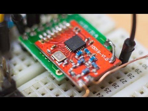 Радиомодули CC1101 на 868Mhz, Подключение к Arduino