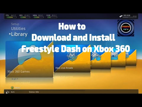 How To Install Freestyle Dash Onto Your Xbox Complete Tutorial
