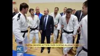 Putin orders action over doping allegations