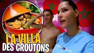 Je cuisine pour toute la Team Croûton à la Villa au Maroc 🇲🇦