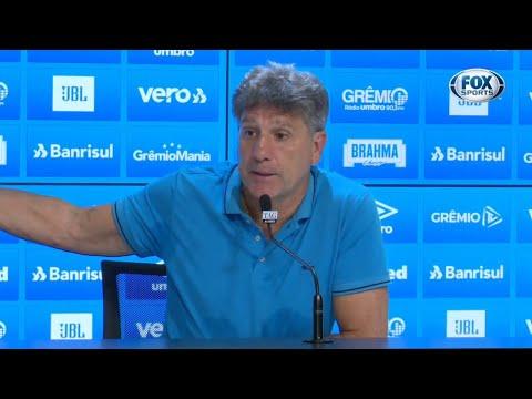 FALA, RENATO! Técnico do Grêmio fala sobre a vitória contra o Goiás no Brasileirão
