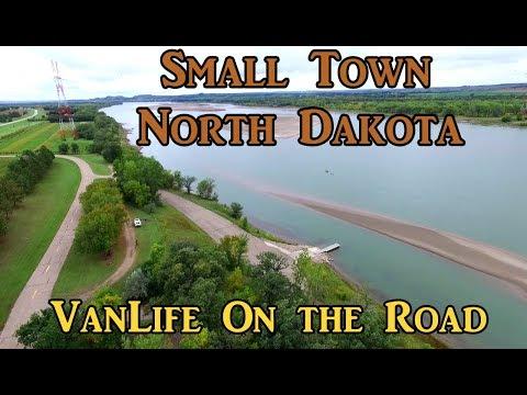 Small Town North Dakota VanLife On the Road