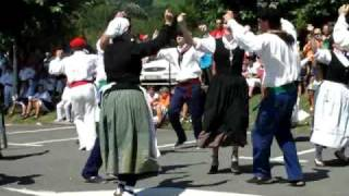 Assumption Of Mary Dances with Itxas Alde in Bakio - Basque Country [Travel with Manfred]