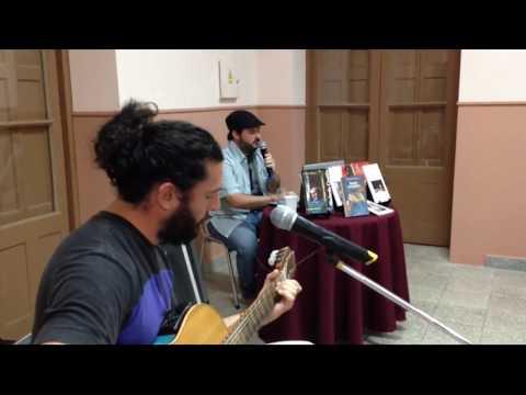 Homenaje a Abelardo Castillo en la Feria del Libro (Román Solsona - Poli Rosales)