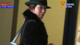 TAKARAZUKA STAR TROUPE 如月蓮 瀬央ゆりあ 2014.2.1撮影.