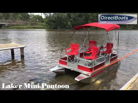 Laker Mini Pontoon Boat