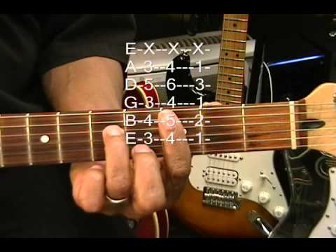 Guitar Chord Form Tutorial #117 Thin Lizzy Style Chord Lesson EricBlackmonMusic