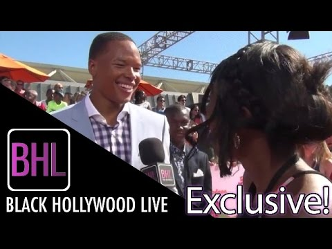 Marvin Jones @ Nickelodeon Kid's Choice Sports Awards | Black Hollywood Live Interview