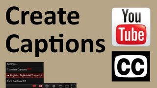 How To Add Closed Captions To A YouTube Video(http://BigNate84.com - In this video I will show you How-To create closed captions for a YouTube video. You'll get formatting tips, step-by-step instructions and 4 ..., 2012-02-10T21:54:38.000Z)