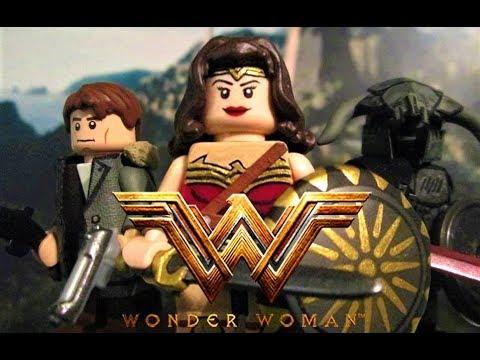 Lego Wonder Woman - Custom Minifigure Showcase - By ...