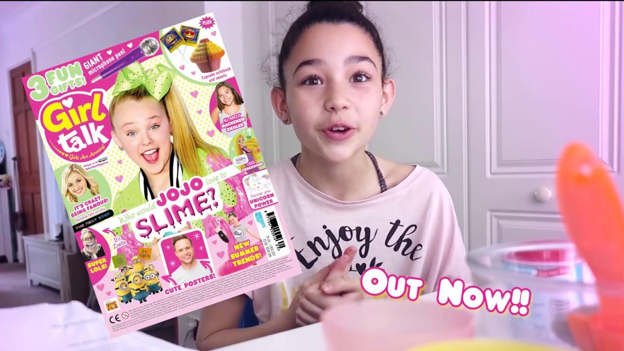 Diy Glitter Slime Tutorial Girl Talk Magazine - Youtube-1466