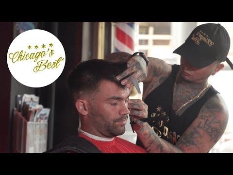 Chicago Barbershop: Chicago's Best Barbershop Haircut [Unintentional ASMR]