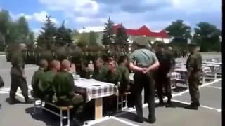 Обучение обеду в армии