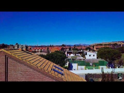 VIDEO DRON CHALET PAREADO TORRELODONES PUEBLO