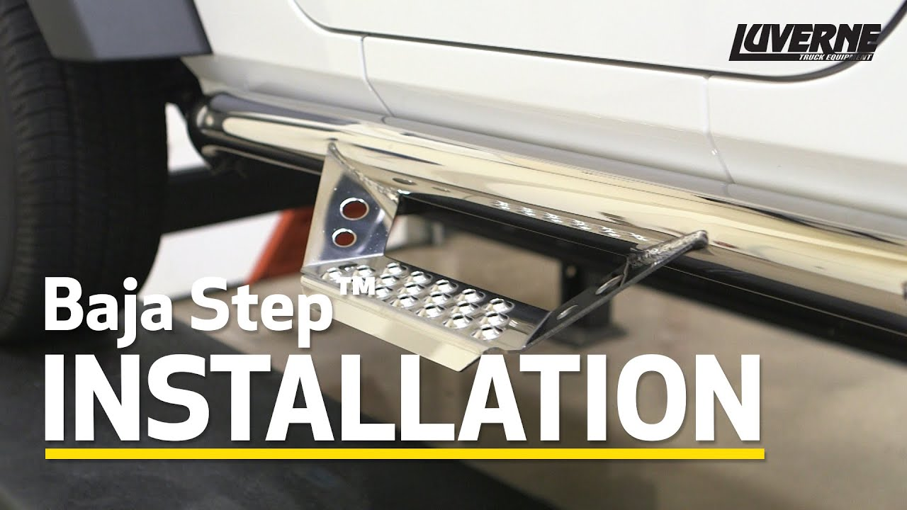 Luverne Install Baja Step on Jeep Wrangler Unlimited