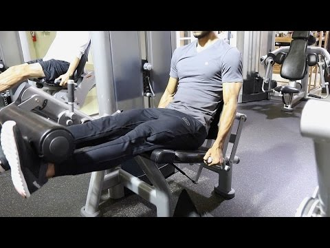 Men's Full Leg Workout Video and Cardio Too