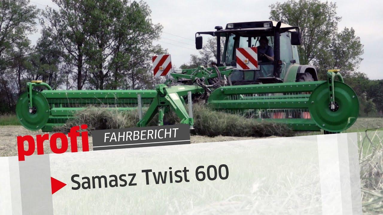 Samasz Kammschwader Twist 600 | profi #Fahrbericht