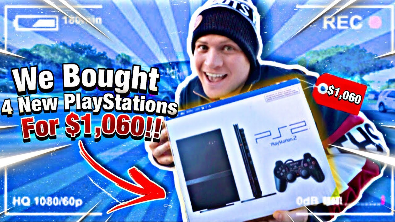 We Bought 4 New PlayStations For $1,060!