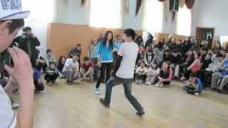Dance Battle with Buddha Stretch and Jan Voinov in Osh