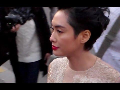Actress 朱茵 Chu Yan Athena @ Paris 3 october 2015 show Nina Ricci