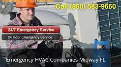 Emergency HVAC Companies Midway FL (850) 583-9660