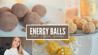 CORONA KÜCHE | Home-Office Snacks | Energy Ball Rezepte | Charlotte K.