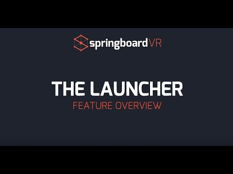 Springboardvr: Custom Game Launcher - YT